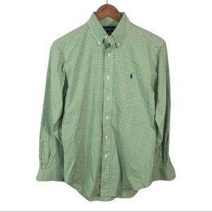 BF506 Polo Ralph Lauren Dress Shirt 14.5 32/33 S